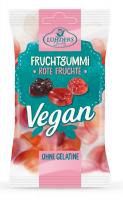 Rote Früchte, vegane Fruchtgummis