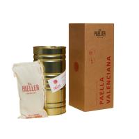 Paella Valenciana - El Paeller -Fleisch und Gemüse Paella für Zwei